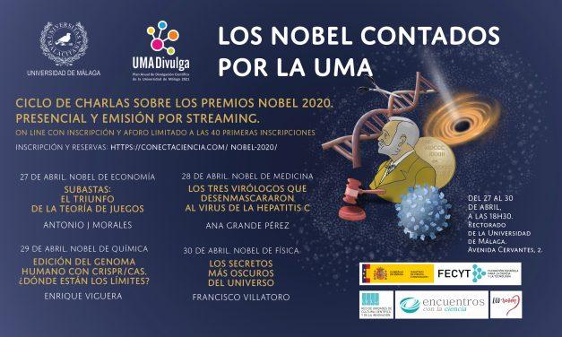 Ciclo de Charlas «Los Nobel contados por la UMA»